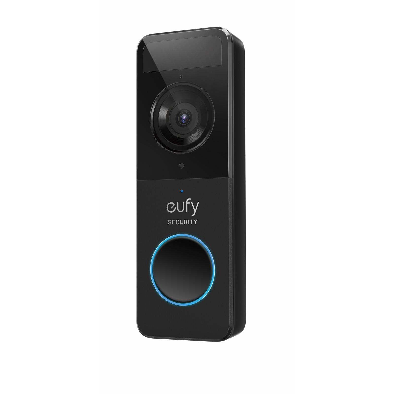 Eufy Battery Doorbell 1080p black