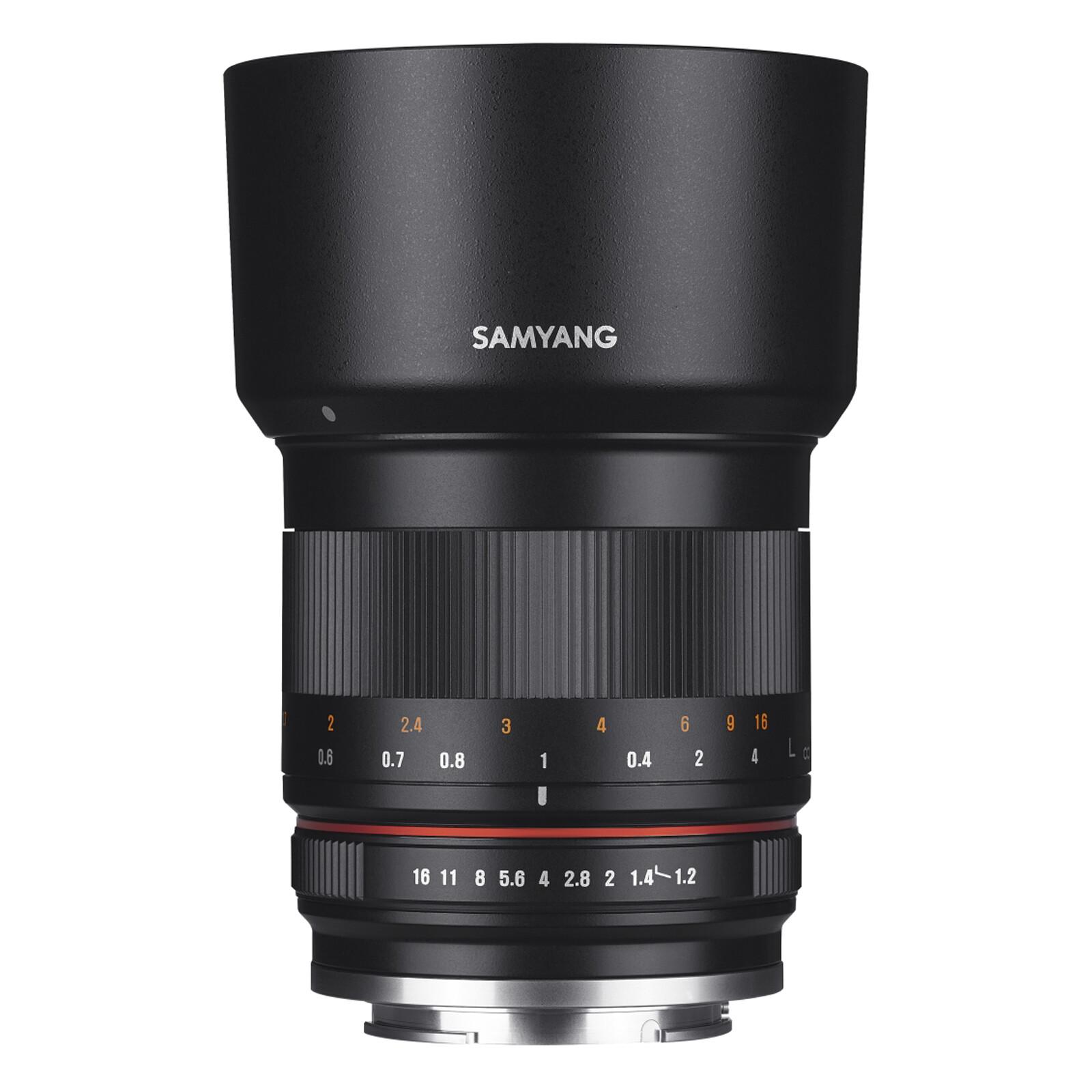 Samyang 50/1,2 APS-C MFT Schwarz + UV Filter