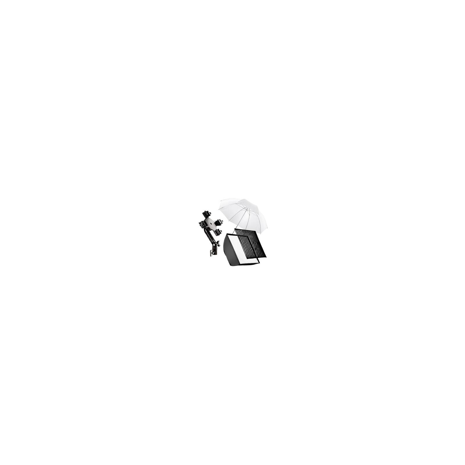 walimex 4f Blitzhalter inkl. SB 60, Schirm weiß