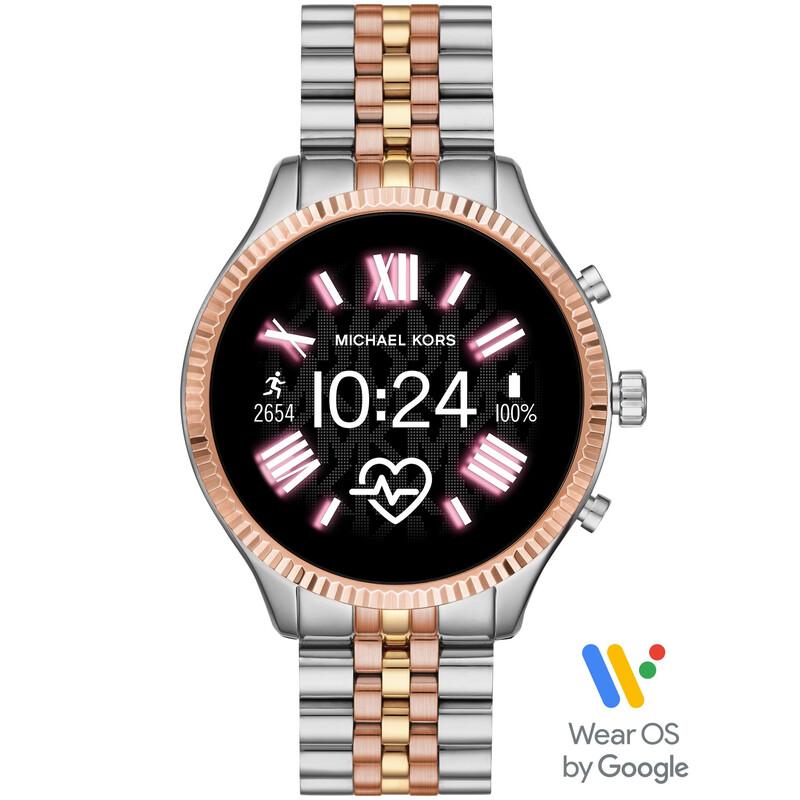 Michael Kors Smartwatch Lexington 2 dreifarbig