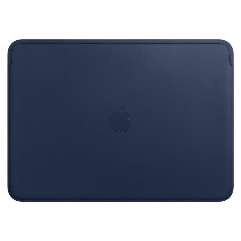 """Apple MacBook 13"""" Lederhülle Mitternachtsblau"""