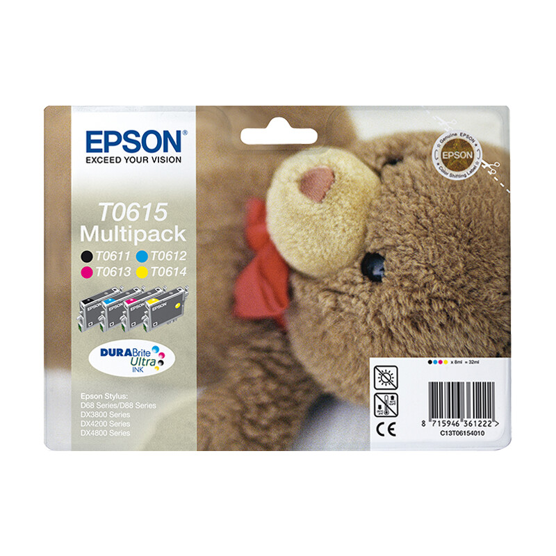 Epson T0615 Tinte Multipack