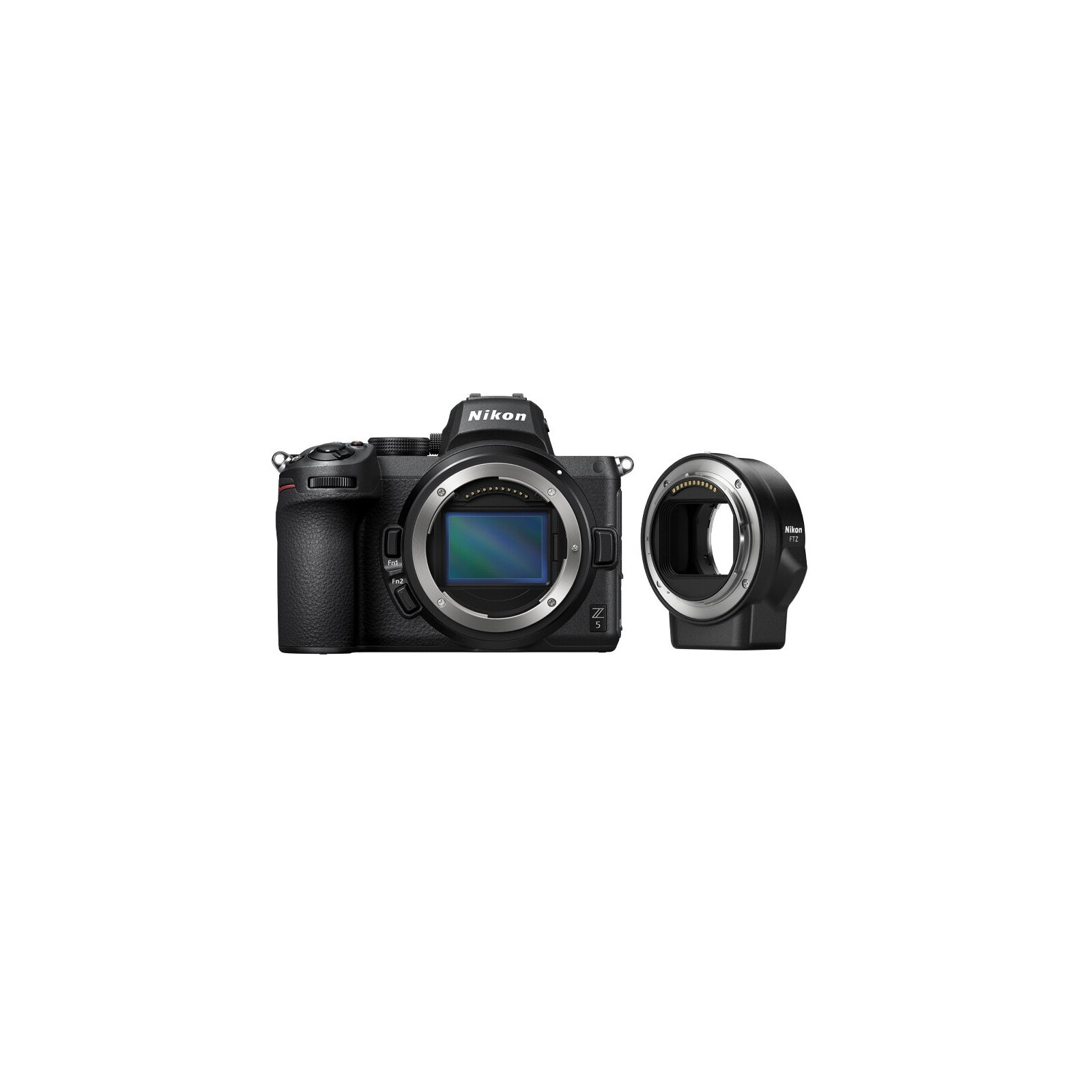 Nikon Z5 Gehäuse + FTZ Adapter