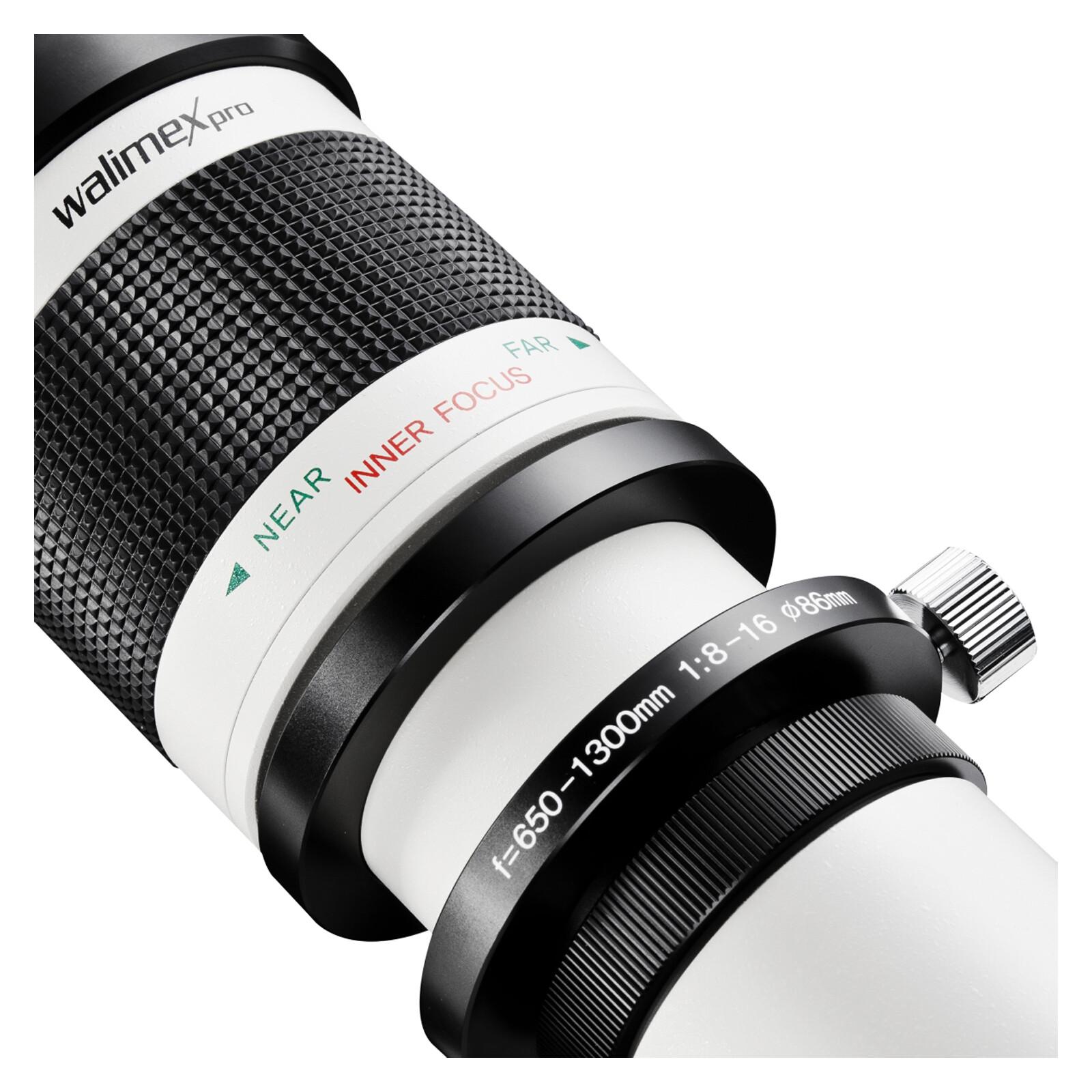 walimex pro 650-1300/8-16 DSLR Canon EF Weiß
