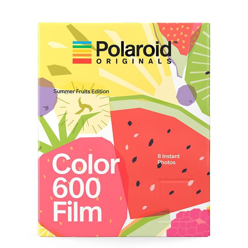 Polaroid 600 Color Film Summer Fruits
