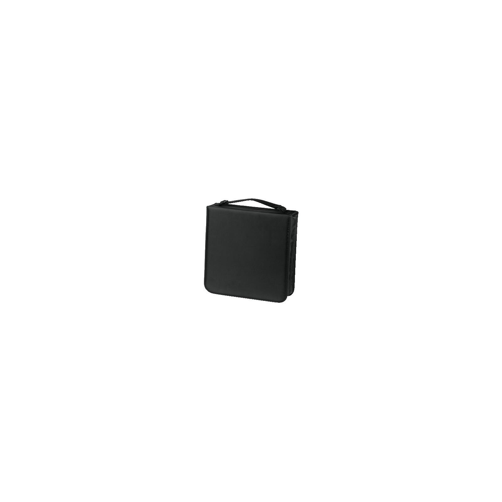 Hama 33835 CD-/DVD-/Blu-ray-Tasche 208 schwarz
