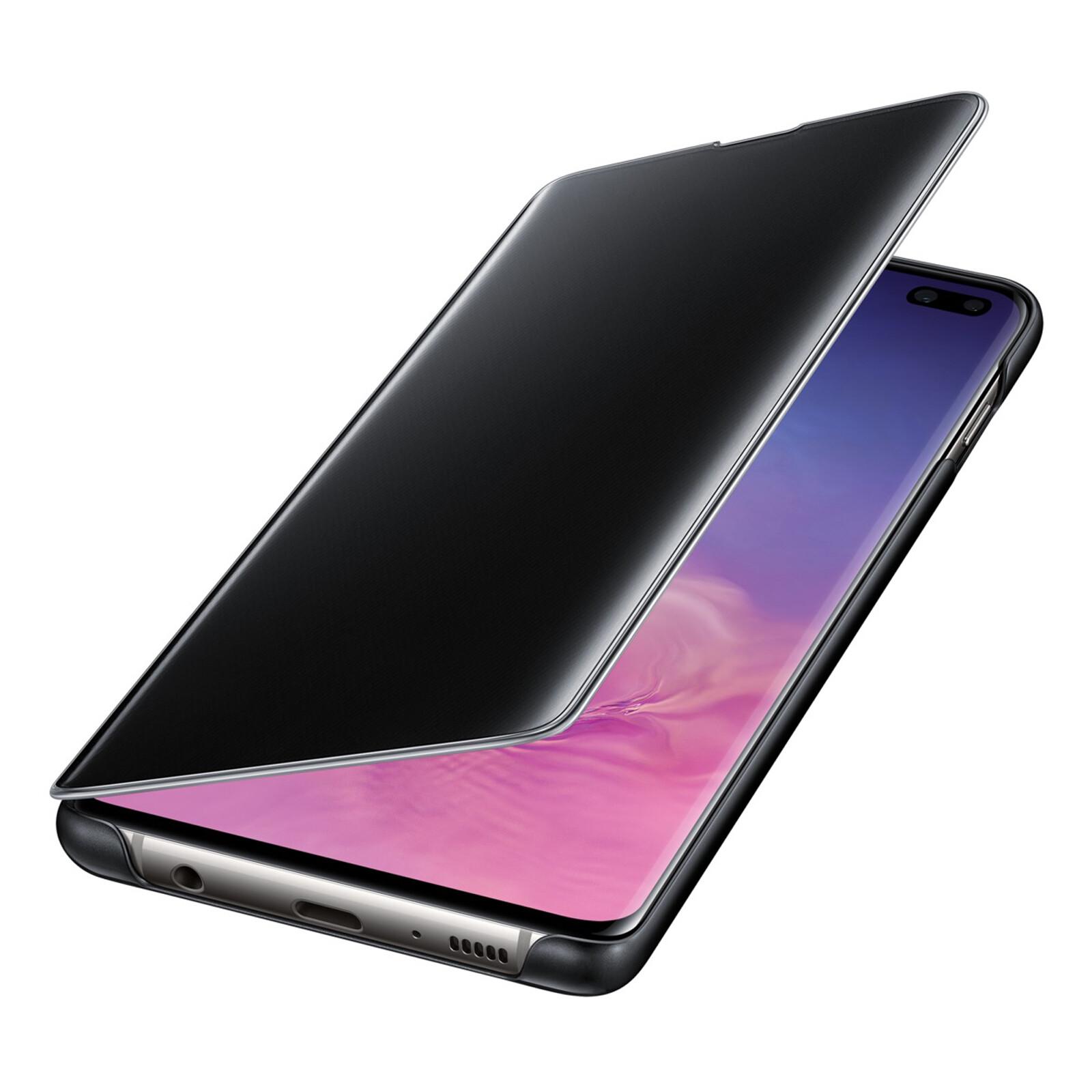 Samsung Book Tasche C-View Galaxy S10 Plus schwarz