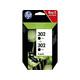 HP 302 2-PACK Tinte schwarz
