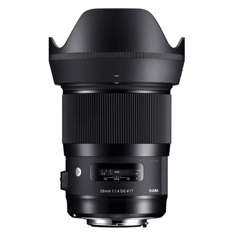 Sigma ART 28/1,4 DG HSM Sony F-E + UV Filter