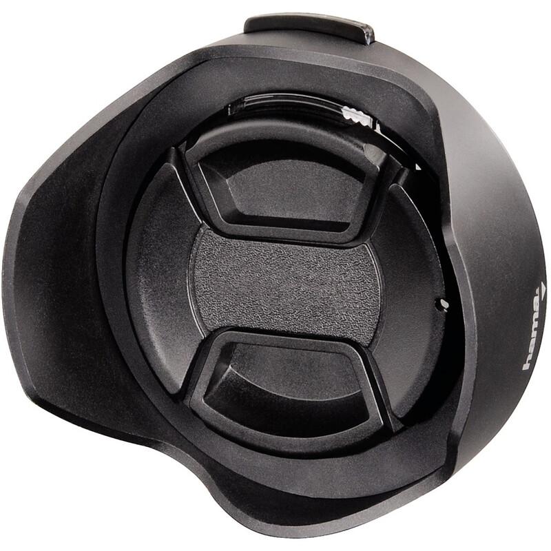 Hama 93672 Gegenlichtblende 72mm mit Objektivdeckel