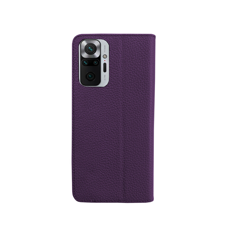 Galeli Book Case Marc Xiaomi Redmi Note 10 Pro purple