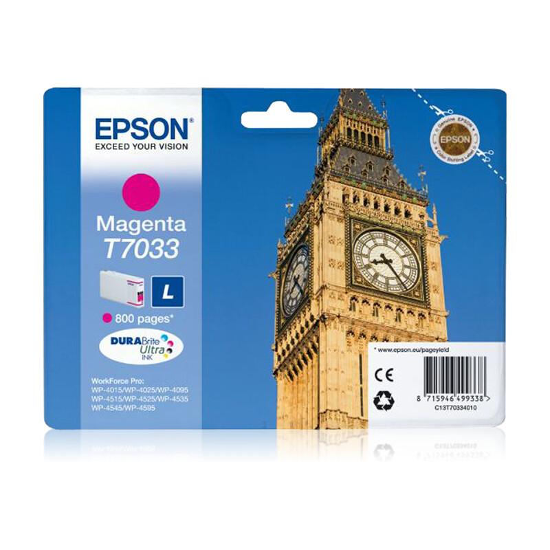 Epson T7033L Tinte Magenta 9,6ml