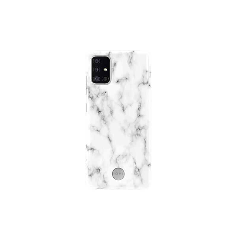 IOMI Back Design Samsung Galaxy A51 white marble