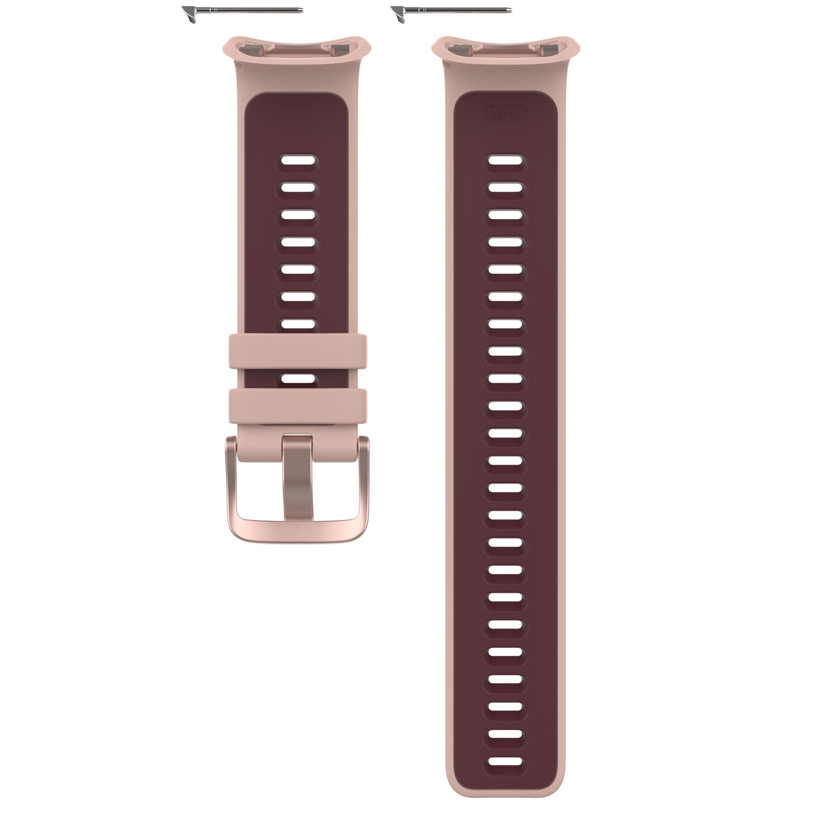 Polar Armband Vantage V2 roseplum S-L