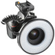Walimex Macro LED Ringlicht DSR 232 Set