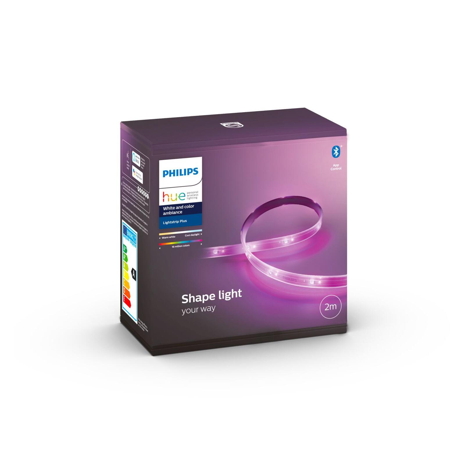 Beleuchtung Philips Hue LightStrip Plus Basis 2m RGBW 1600lm V4