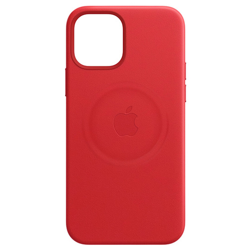 Apple iPhone 12/12 Pro Max Leder Case mit MagSafe productred