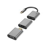 Hama 200306 Video-Adapter-Set 6in1 USB-C/Mini-DisplayPort