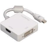 Hama 53245 3in1-Mini-DisplayPort-Adapter DVI/Displayport/HDM