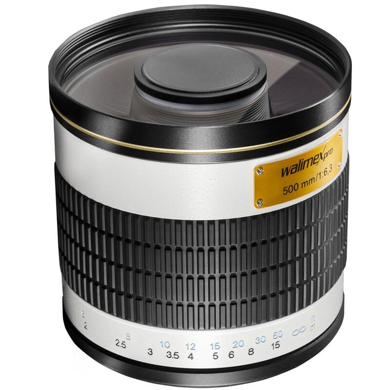 walimex pro 500/6,3 DSLR Spiegel Canon M mit T2 Adapter