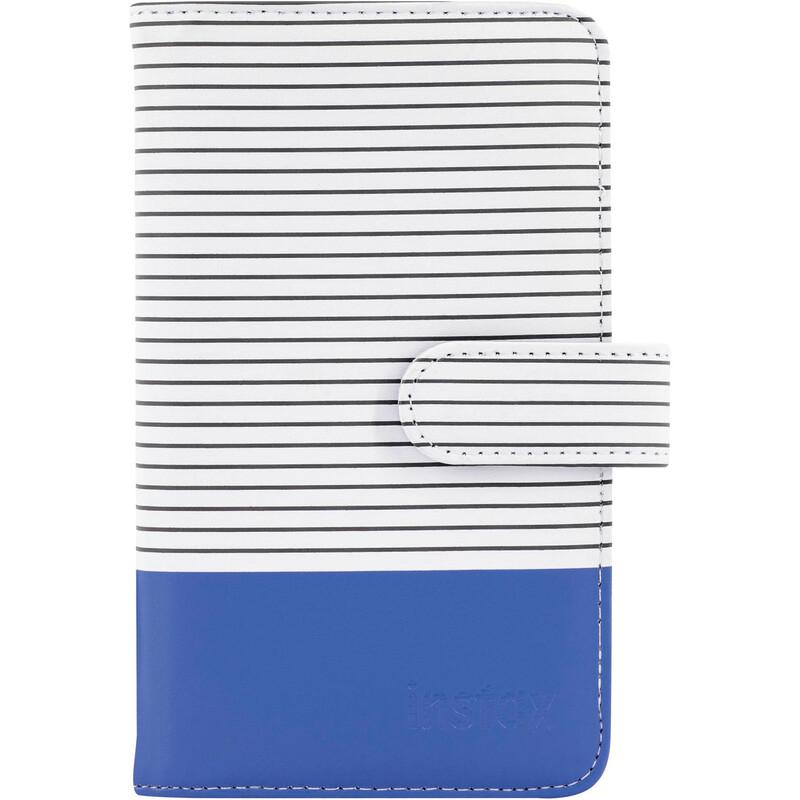 Fujifilm Instax Striped Mini Album Cobalt Blue