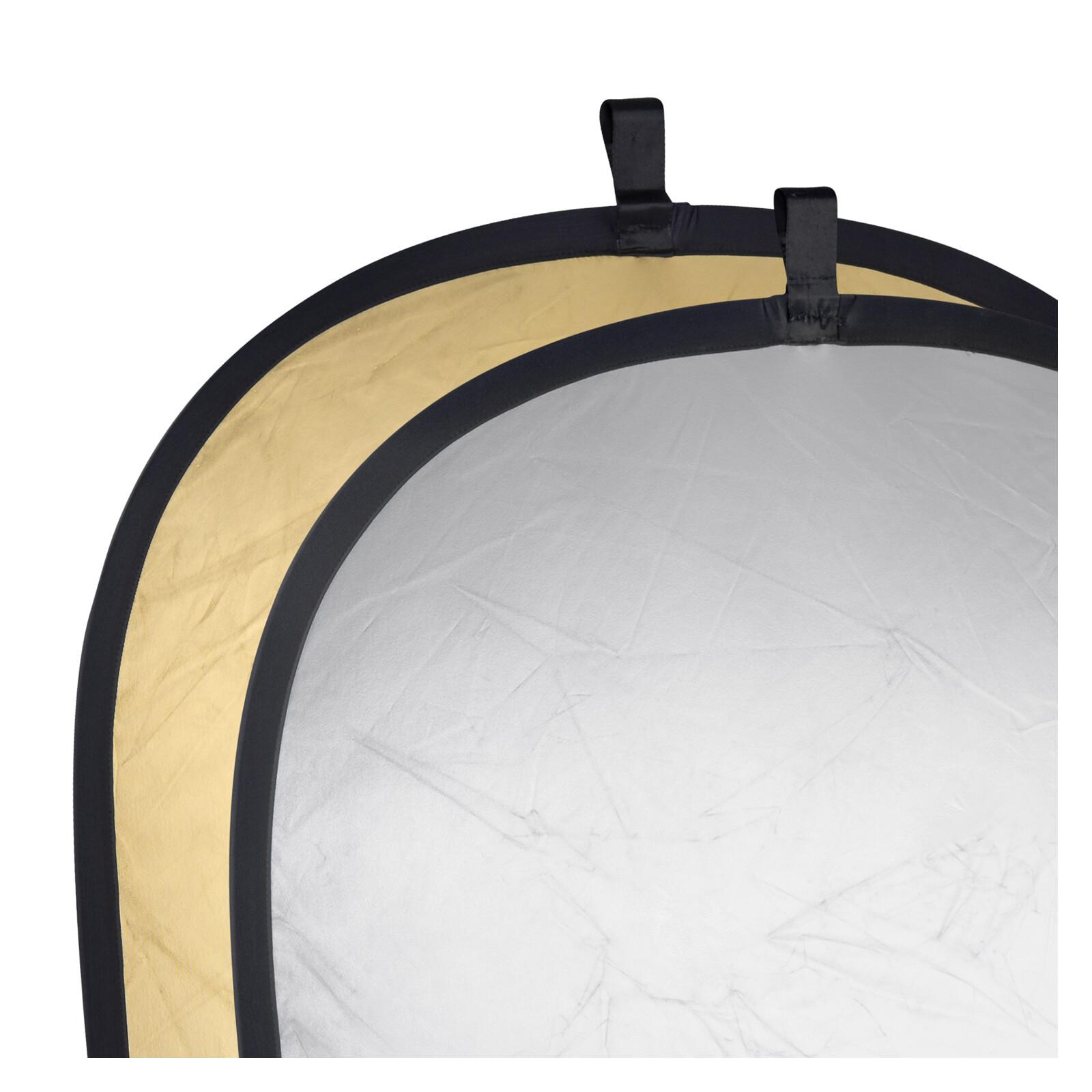walimex Faltreflektor gold/silber, 150x200cm