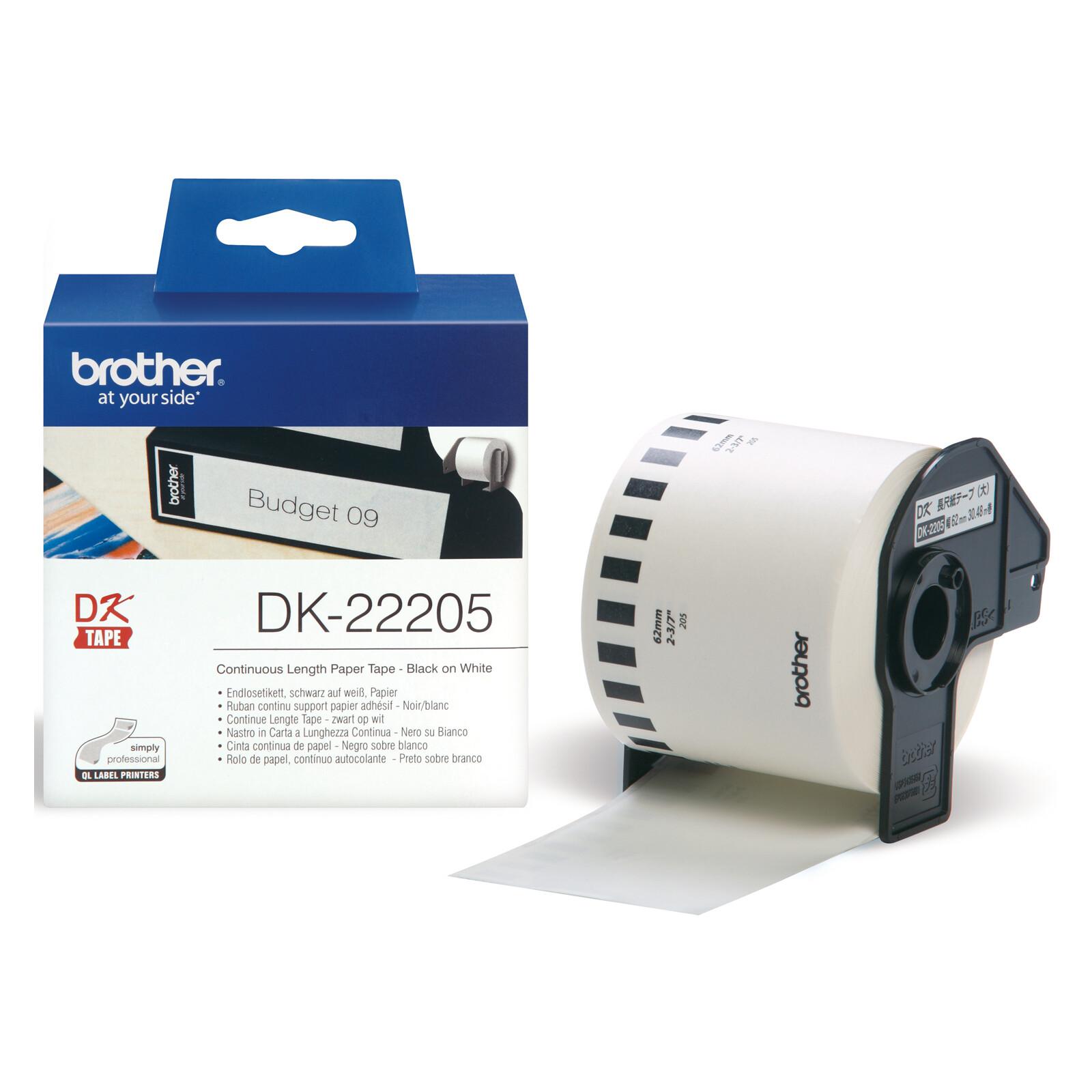 Brother DK22205 60x30 Thermopapier