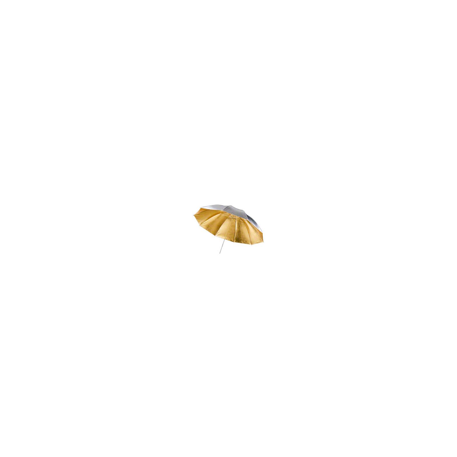 walimex pro 2in1 Reflexschirm gold/silber, 150cm