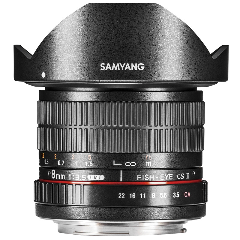 Samyang MF 8/3,5 Fisheye II APS-C Pentax K