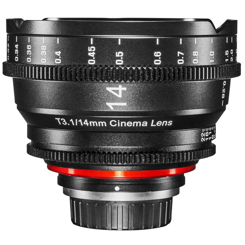 XEEN Cinema 14/3,1 Nikon F Vollformat