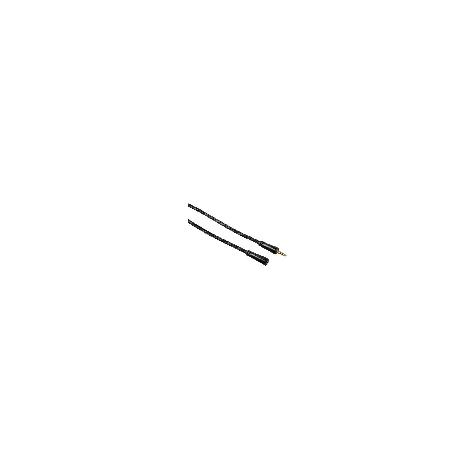 Hama 122322 Audio-Verlängerungskabel vergoldet 5m