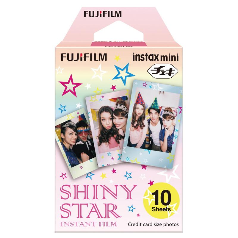 Fujifilm Instax Mini Shiny Star 10 Aufnahmen