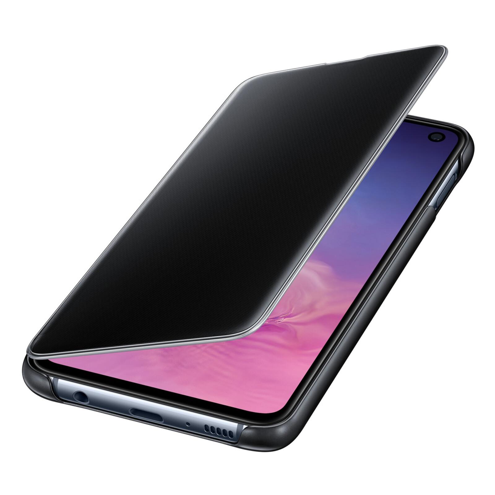 Samsung Book Tasche C-View Galaxy S10e schwarz