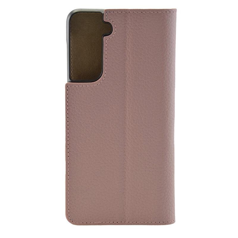 Galeli Book MARC Samsung Galaxy S21+ rose tan