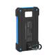 Xlayer Powerbank Solar Wireless Black/Blue 8000 mAh