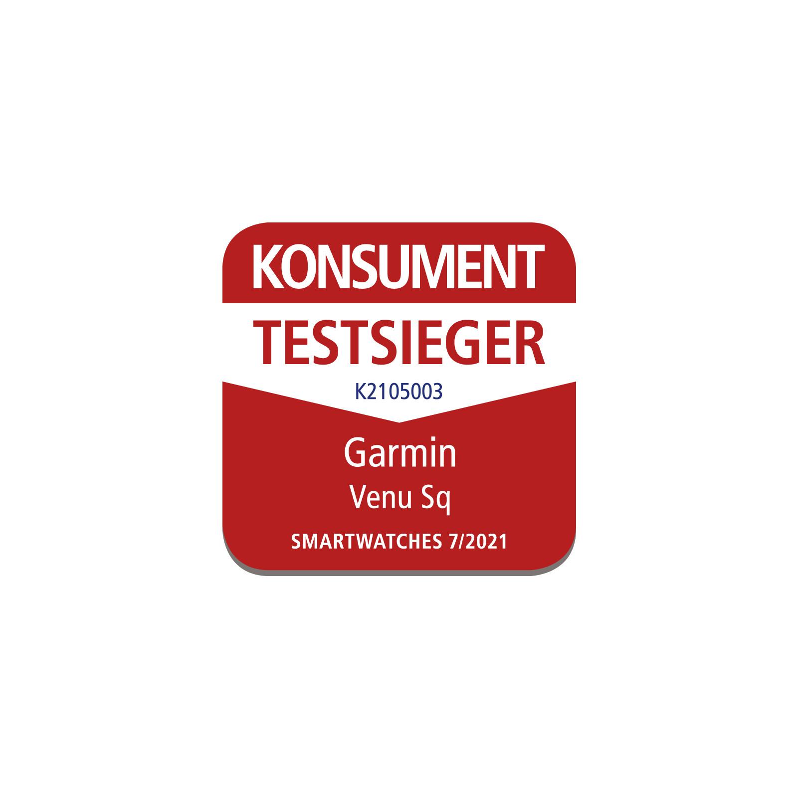 Konsument Testsieger Garmin Venu SQ  Smartwatches 07/2021