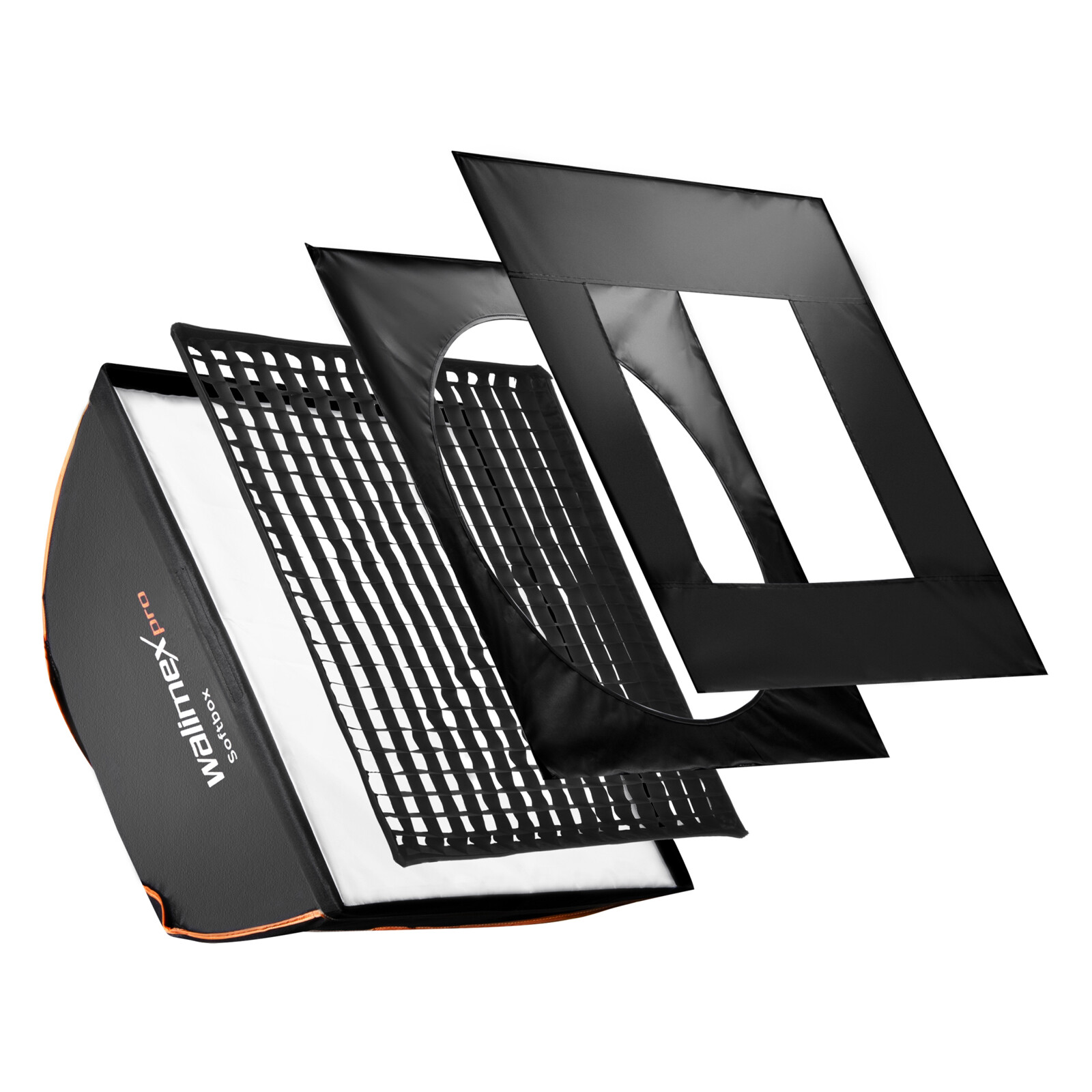 walimex pro Softbox PLUS OL 60x60cm + Uni Adapter