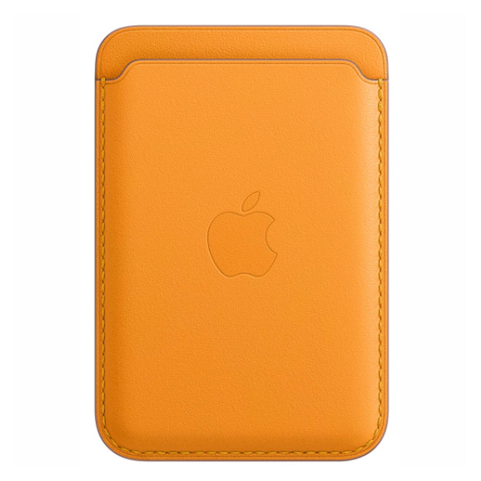 Apple iPhone Leder Wallet mit MagSafe california poppy