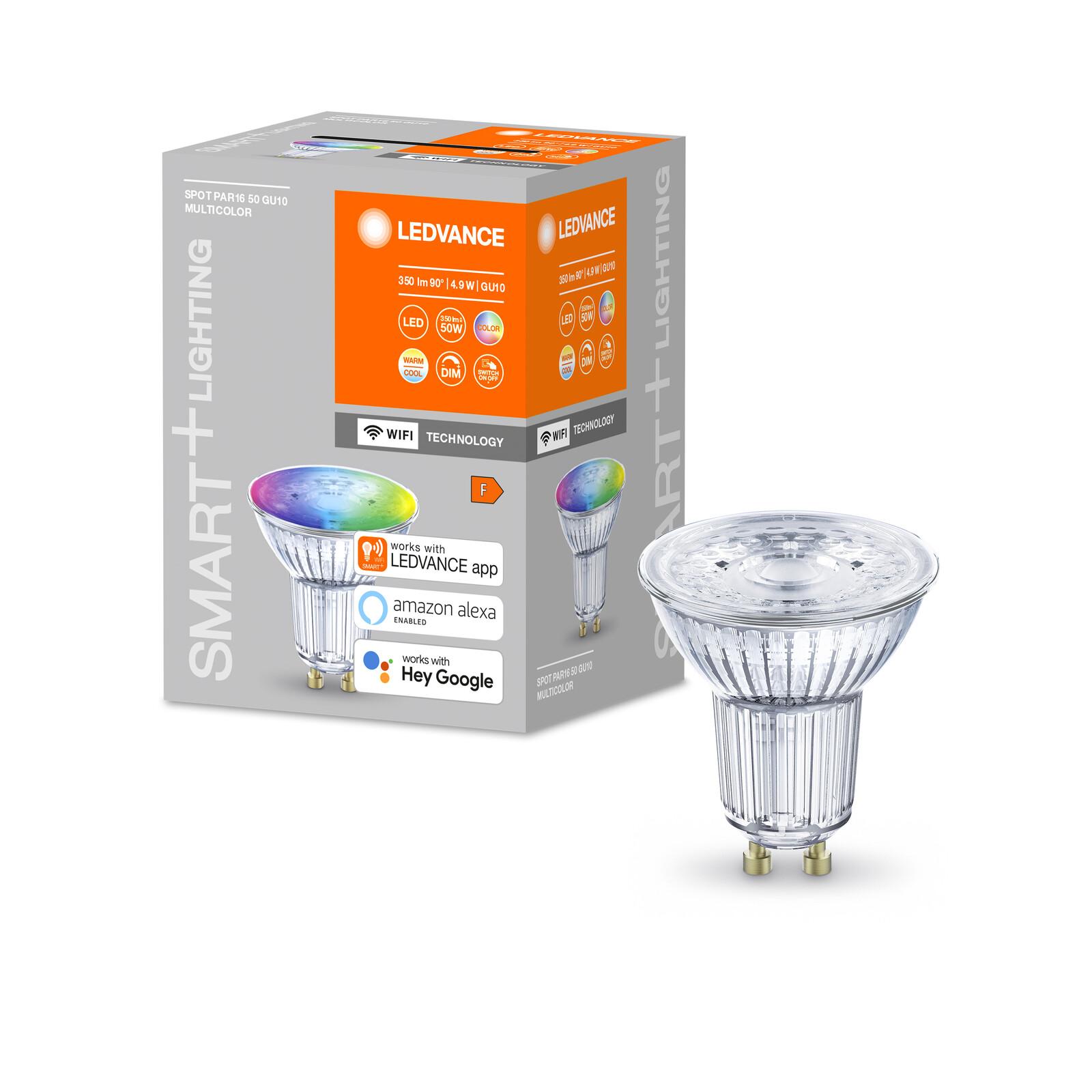 Ledvance Smart+ WiFi Par16 50 RGBW GU10