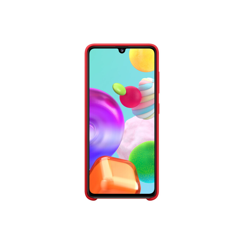 Samsung Backcover Galaxy A41 rot