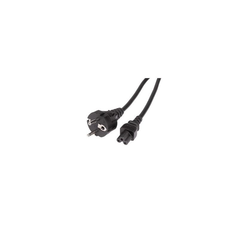 Hama Netzkabel Schutzkontakt-Stecker 3pol. Kupplung