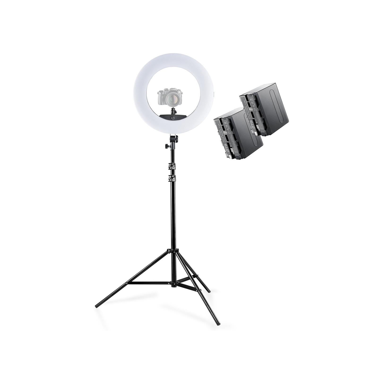Walimex pro LED Ringleuchte Medow 960 Pro Set inkl. Lampenst