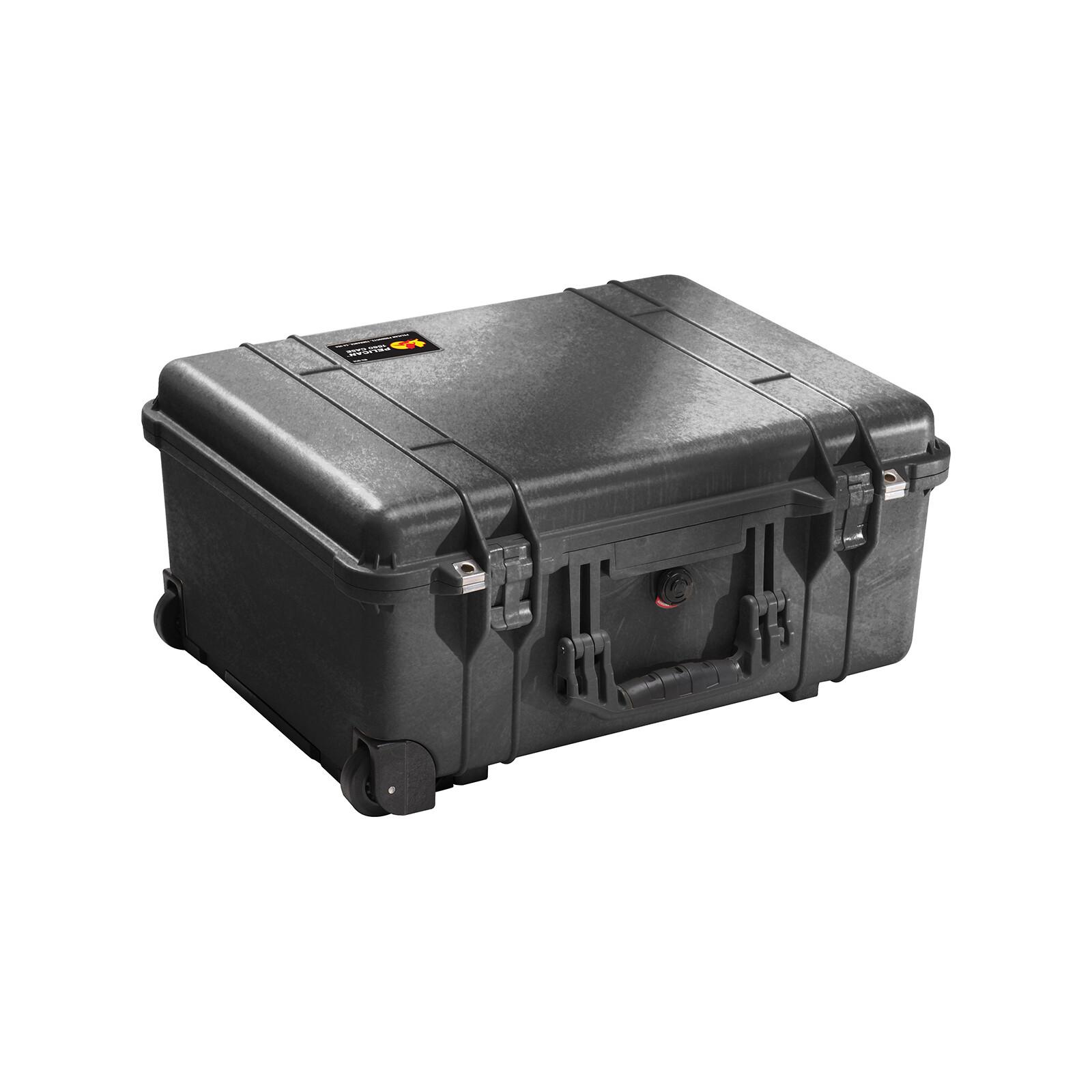 PELI 1560 Case mit Schaumstoff black