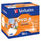 Verbatim DVD-R 4,7GB 16x JC 10er Printable
