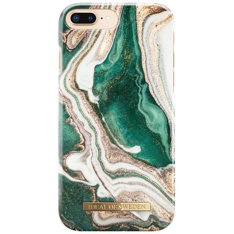 iDealofSweden Back Apple iPhone 6/6s/7/8 Golden Jade Marble