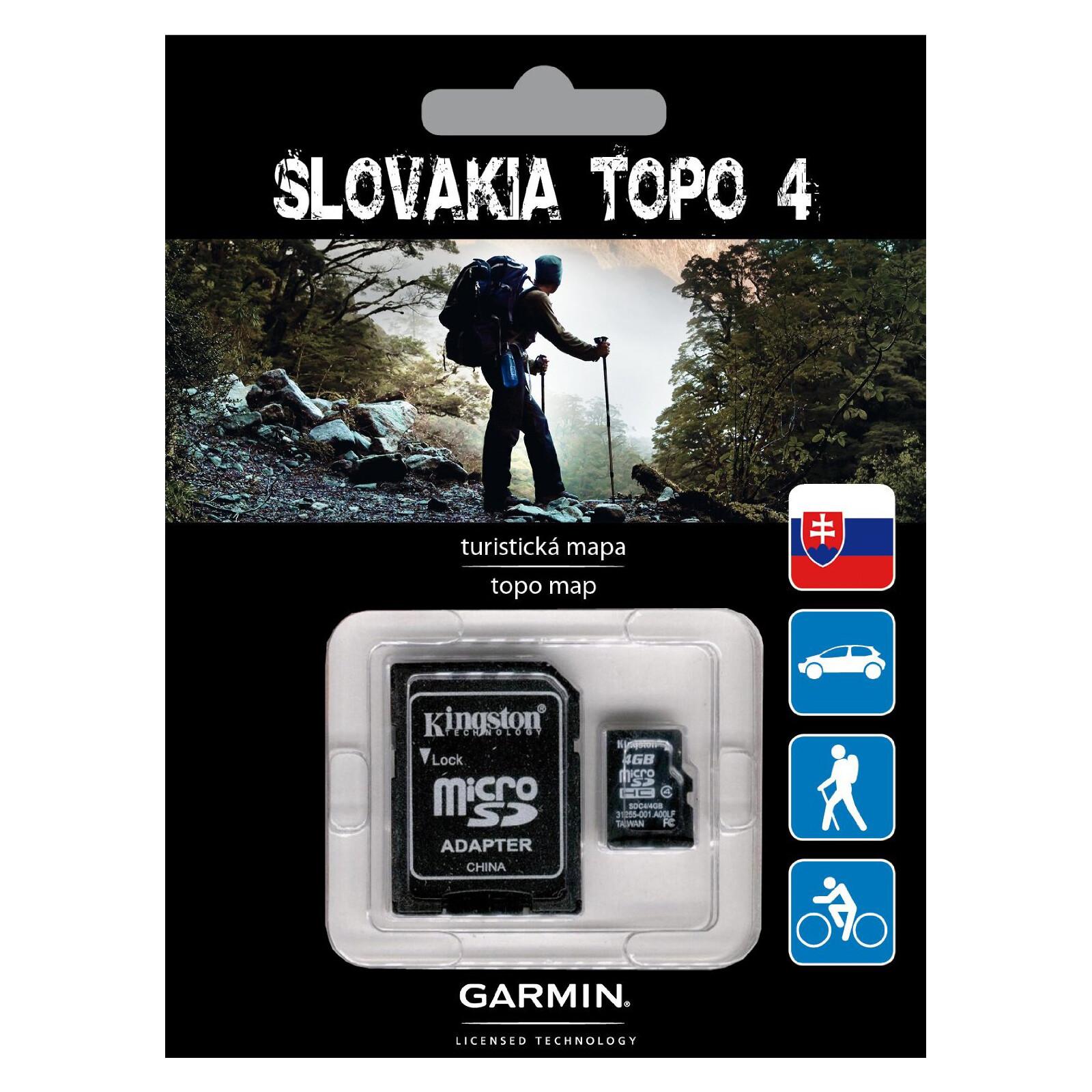 Garmin Topo Slovakia v4