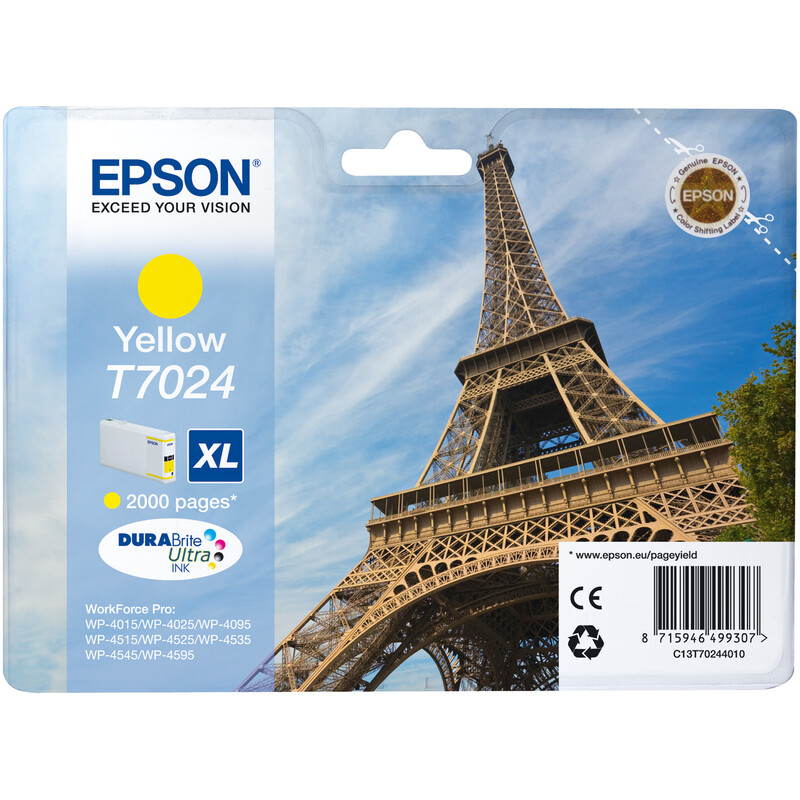 Epson T7024XL Tinte Yellow 21,3ml