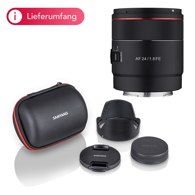 Samyang 24/1.8 Sony FE Masterpiece for Astrophotography