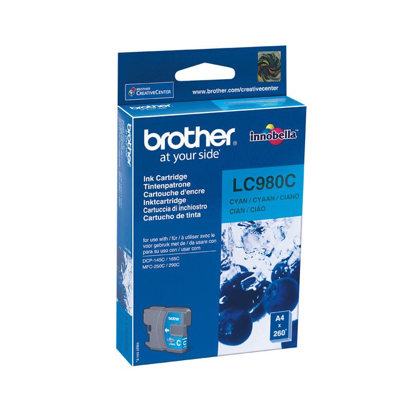 Brother LC-980C Tinte cyan