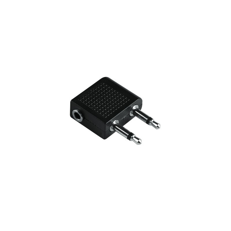 Hama 122383 Audio-Adapter 2x3,5mm Klinken-St. Mono